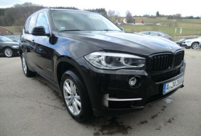 Second-hand BMW X5 2015 full